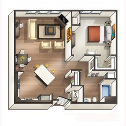 Bell Watertown Belcourt Floor Plan